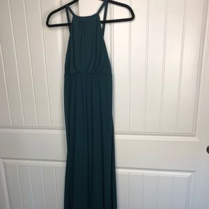 Show me your mumu halter maxi dress